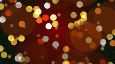 Abstract bokeh particles falling. Happy New Year, Merry Christmas, Happy Birthday day shiny Animation