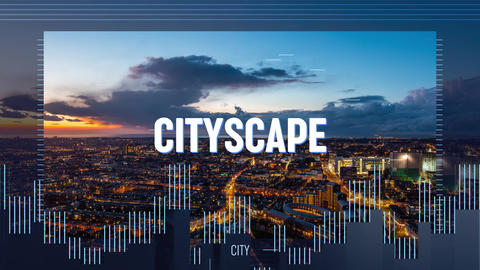 CityScape Promo Plantilla de After Effects