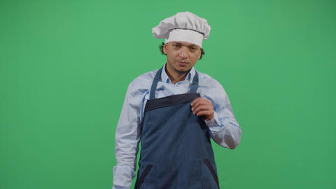 Adult Man Chef With Hygiene Problem Live Action