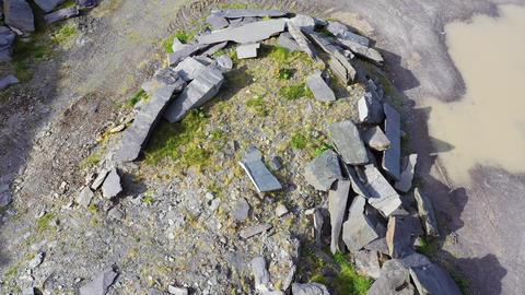 Old Slate Quarry, Valentia Island, Ireland Live Action