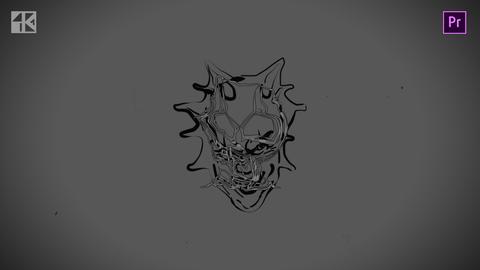 Halloween Logo 4k Premiere Pro Template