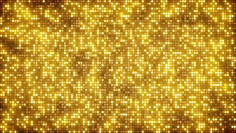 Gold glitter dots loopable background Animation