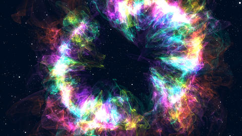 Galaxy Milky Way Stock Video Footage