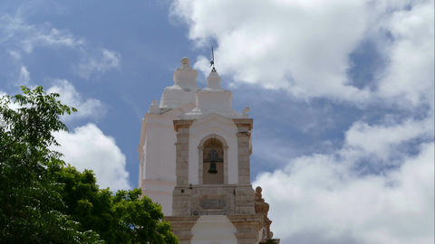 The towers of Santo Antonio's Church, time lapse Footage