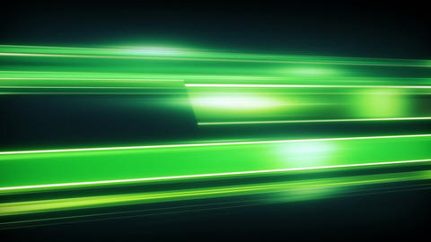 Green light streaks loopable modern background Animation