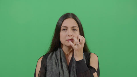 Frustration Gesture Demonstrated By A Woman Live Action
