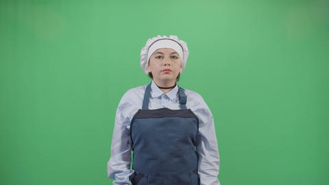 Woman Chef With Hygiene Problem Live Action