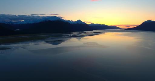 Alaska sunset Live Action