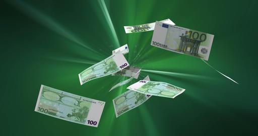 Flying Euros Animation
