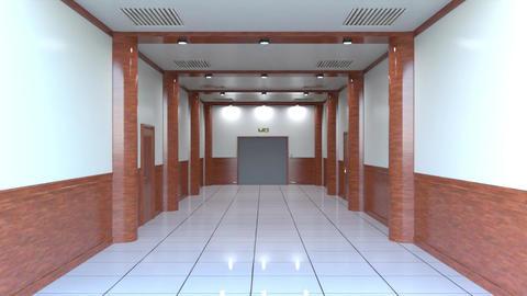 Elevator passage Animation