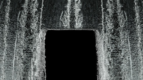 Waterfall texture loop 4K Live Action