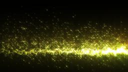 シンプルなタイトルバック-イエロー/透過背景 CG動画