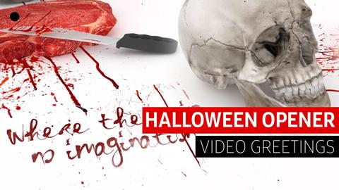 Halloween Video Greetings After Effects Template
