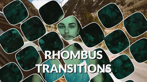 Rhombus Transitions Premiere Proテンプレート