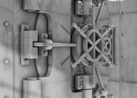 Vault locked Fotografía