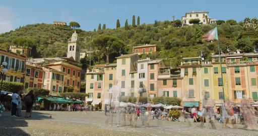 Portofino picturesque ligurian colourful sea village, Italy , Portofino Regional Live Action