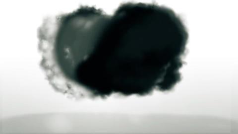 Explosion Dark Smoke Logo Reveal Plantillas de Premiere Pro
