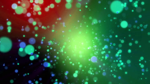 Particle Shine green light flare loop animation GIF