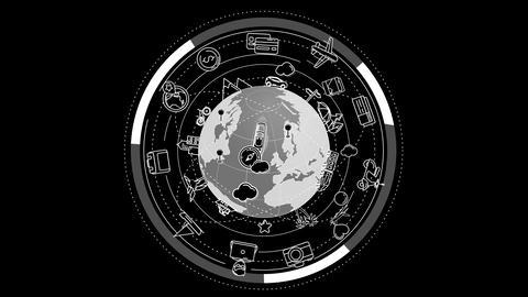 Worldwide Tourism and travel Animation Animation