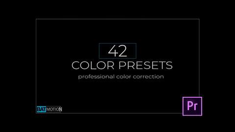 Wedding Color Presets V 3 Premiere Proテンプレート