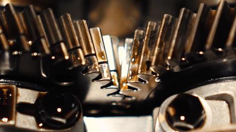 motor, camshafts, mechanism, gearsmotor, camshafts, mechanism, gears Live Action