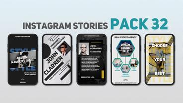 Instagram Stories Pack 32 After Effects Template