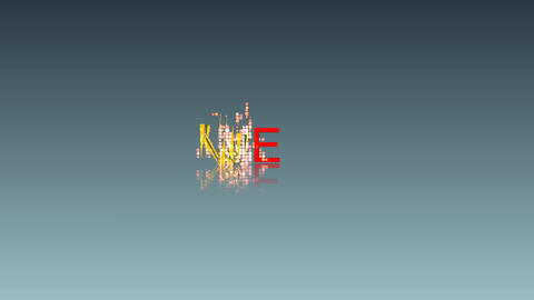 093 3d animated word NEW Stock Video Footage
