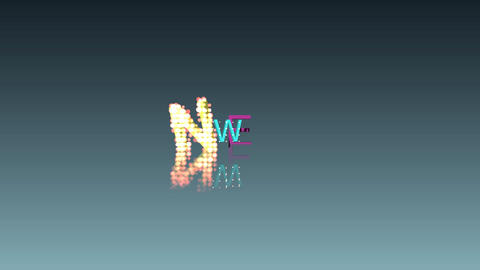 093 3d animated word NEW Animation