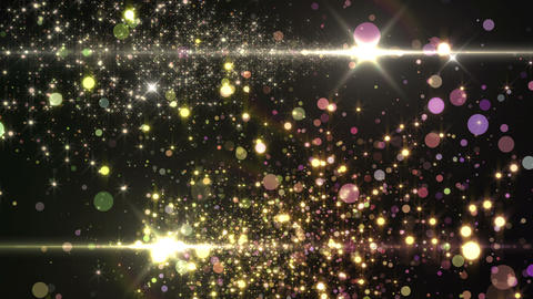 Lens Flares and Particles 16 S7 4k CG動画