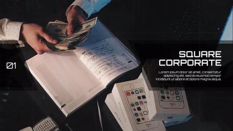 Square Of Set - Corporate Plantillas de Premiere Pro