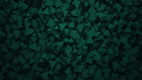 Motion dark geometric shapes, abstract background Animation