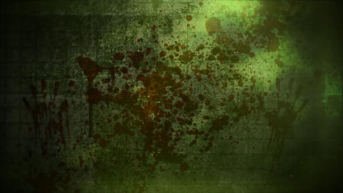 Mystical horror background with dark blood and motion camera. Holiday Halloween, abstract backdrop Videos animados