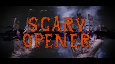 Halloween Horror Opener After Effects Template