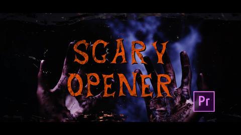 Halloween Horror Opener Plantillas de Premiere Pro