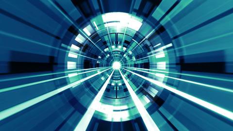 Tech Circle Rays 01 Videos animados