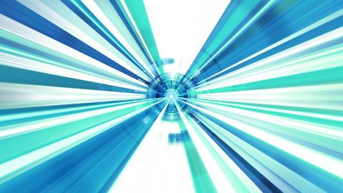 Tech Circle Rays 03 Videos animados