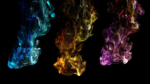 Abstract background of liquid particles. On a beautiful relaxing background Live Action