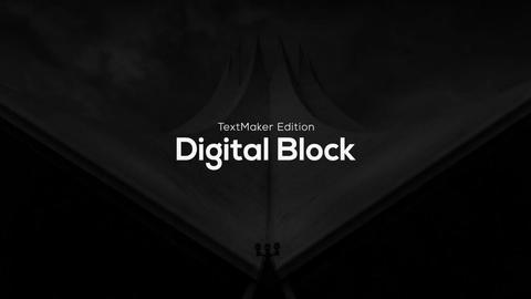 Titles Animator - Digital Block // Final Cut Pro Apple Motion Template