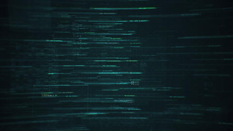 Digital Data Background Animation Animation