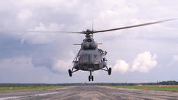 The Mi-8 Helicopter. Skydiving. Amphibious Assault Troops.