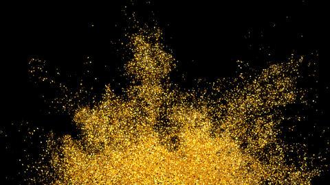 Glitter Sparkle Particle Explosion Background Texture Slow Motion alpha channel Animation