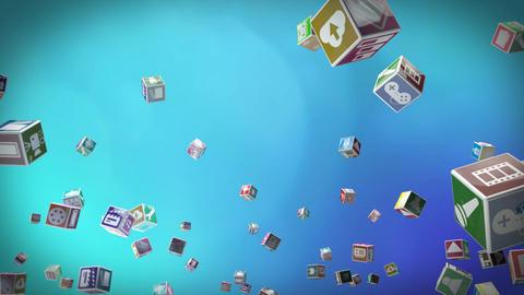 Multimedia icons 2 Animation