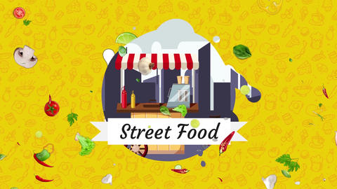Street Food After Effects Template