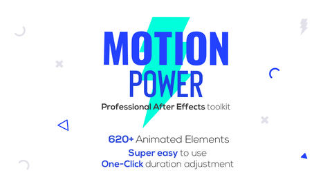 Motion Power After Effects Template