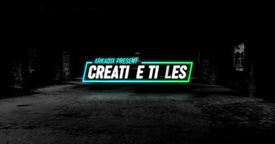 Creative Titles 4k モーショングラフィックステンプレート