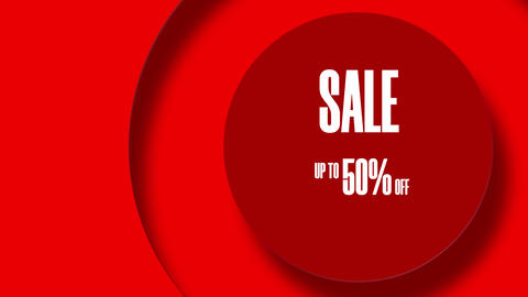 Text With White Letters Sale Up To 50 Percent Off 8K GIF