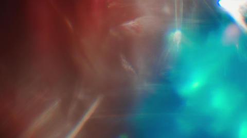 Fantastic natural light metamorphoses. Trendy colorful glow, background, light Live Action