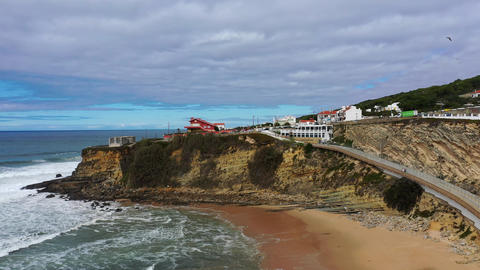 Beautiful nature and famous landmarks of Portugal - Magoito Beach Live Action