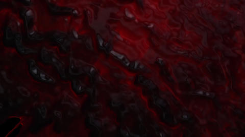 Blood dripping down diagonal transition on black Animation