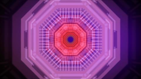 Tunnel Hexgaon 01 Videos animados